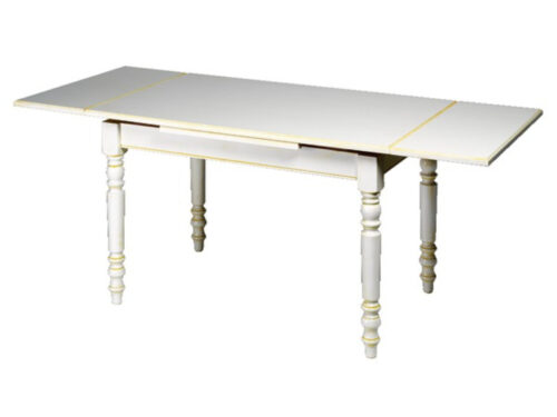 Table rectangulaire + 2 allonges SAMM CALISSON - CONFORAMA