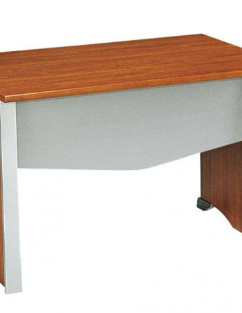Bureau table L120 MAMBO coloris décor imitation poirier - CONFORAMA