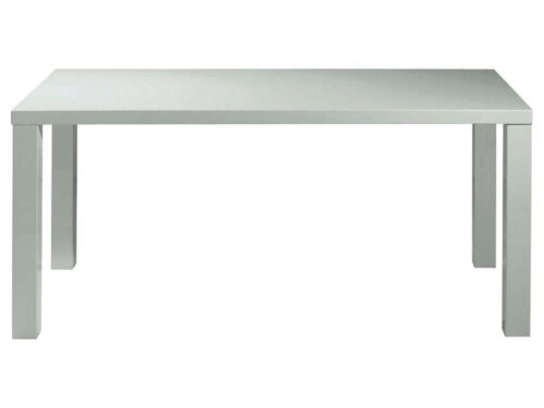 Table rectangulaire PREM'S coloris blanc - CONFO SCOOP