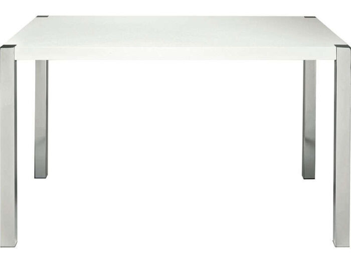 Table Rectangulaire Sunny Coloris Blanc Conforama