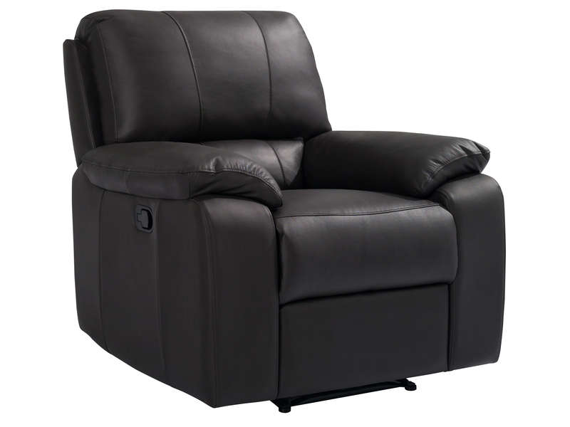 Fauteuil Relaxation Manuel Vicky Coloris Chocolat Conforama