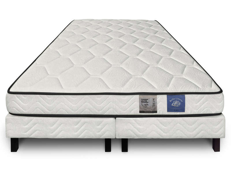 matelas sommier 180x200 cm benoist belle literie zenium benoist belle literie. Black Bedroom Furniture Sets. Home Design Ideas