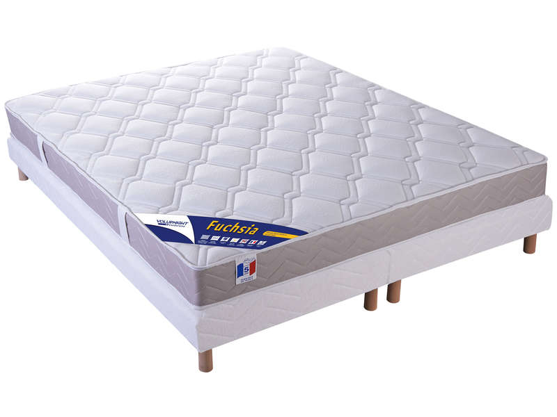 matelas sommier 180x200 cm volupnight by conforama. Black Bedroom Furniture Sets. Home Design Ideas