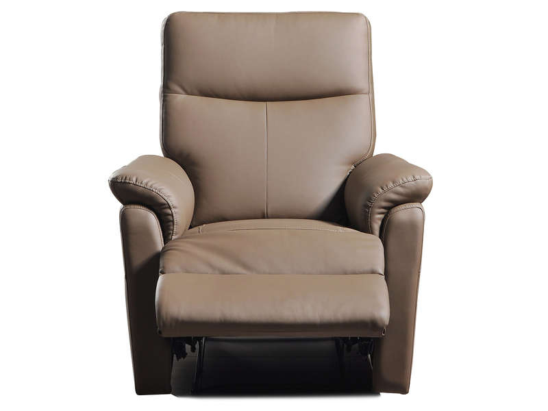 Fauteuil Relaxation Tranks Coloris Taupe Conforama