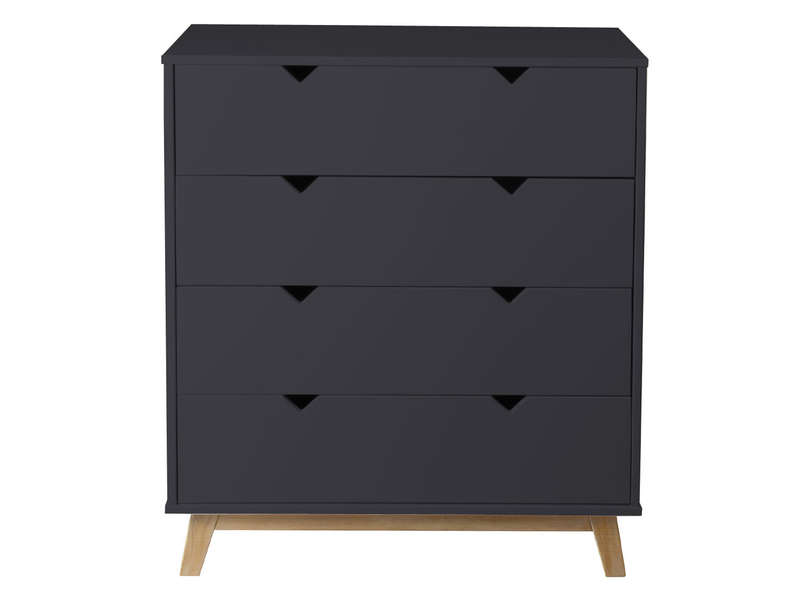 commode gaudi coloris gris anthracite ch ne conforama. Black Bedroom Furniture Sets. Home Design Ideas