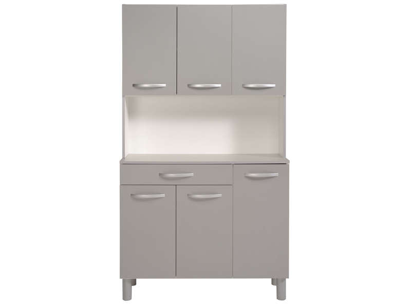 Buffet De Cuisine Spoon Color Gris Conforama