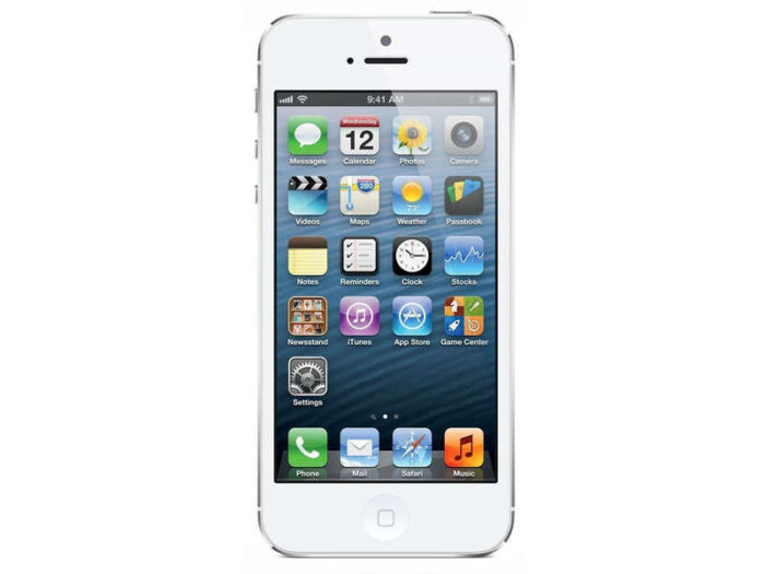 Smartphone 4 '' reconditionné APPLE IPHONE 5 RECONDITIONNE 32GO BLANC - APPLE