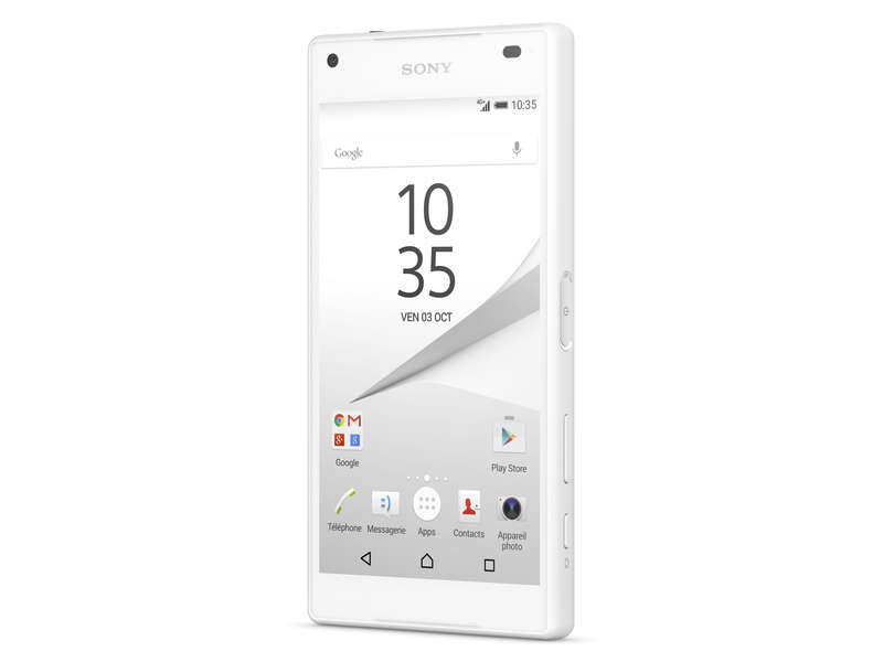 Smartphone 4.6 '' Octo core SONY XPERIA Z5 COMPACT BLANC - SONY