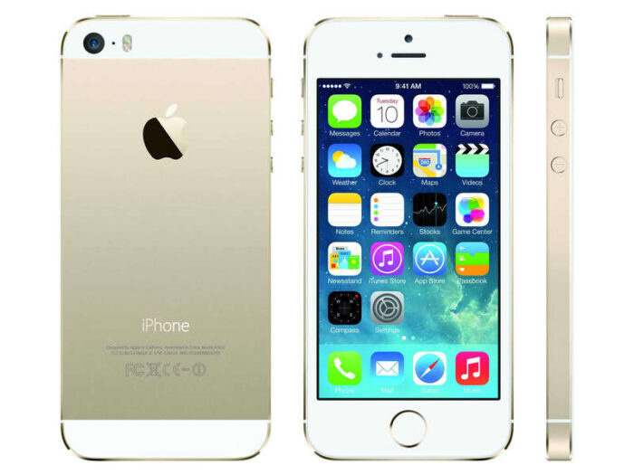 Smartphone 4 '' reconditionné APPLE IPHONE 5S 16GO OR RECONDITIONNE - APPLE