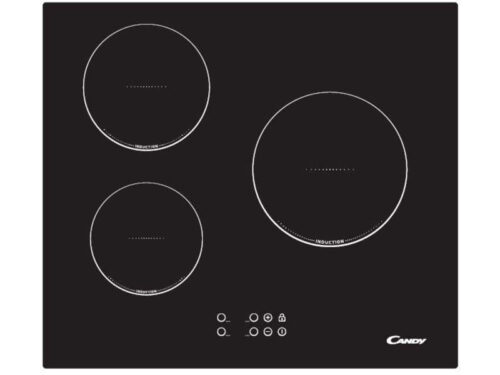 Table de cuisson induction 3 foyers CANDY CI630L - CANDY