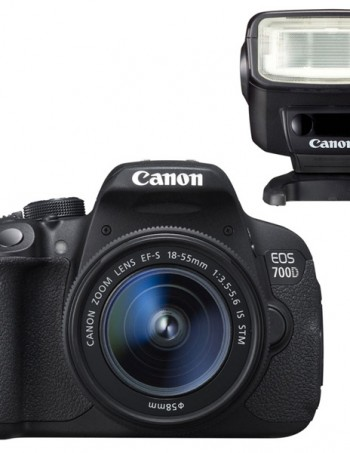 Appareil photo EOS700D+ Flash speedlite270E - CONFORAMA