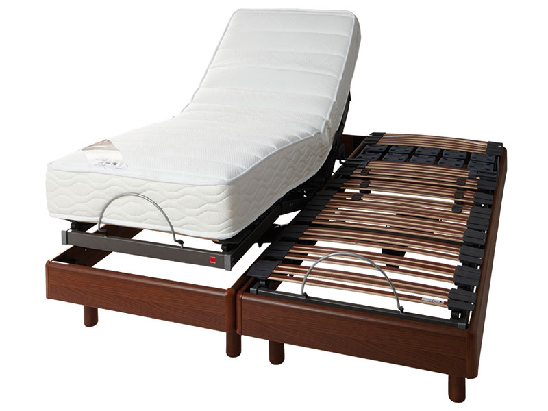 ensemble de relaxation sommier matelas latex 2x80x200 cm conforama. Black Bedroom Furniture Sets. Home Design Ideas