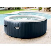 Spa gonflable INTEX Purespa bulles blue navy rond