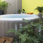 Spa gonflable INTEX Purespa bulles rond