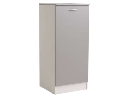 1/2 armoire 60 cm SPOON COLOR coloris gris - CONFORAMA