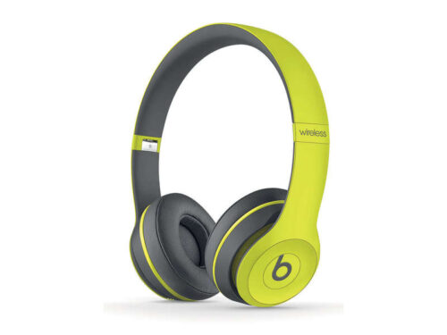 Casque filaire Hifi BEATS SOLO 2 ACTIVE COLLECTION JAUNE - Beats