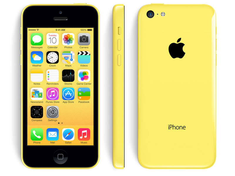 Smartphone 4 '' reconditionné APPLE IPHONE 5C 16GO JAUNE RECONDITIONNE - Apple