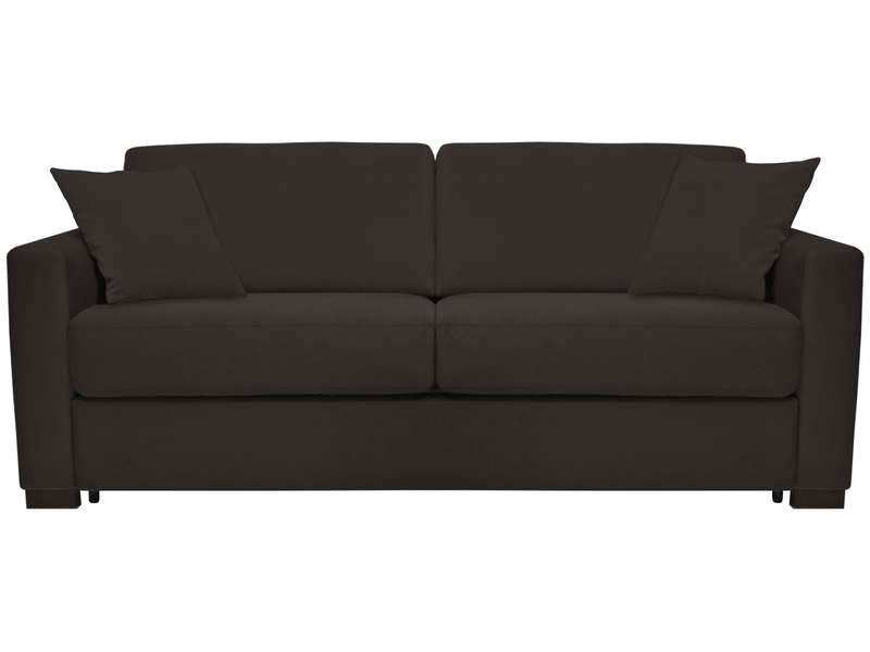 Canapé convertible 3 places SOFLIT 2 coloris anthracite - CONFORAMA