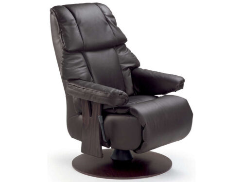 Fauteuil relax 100% cuir - CONFORAMA