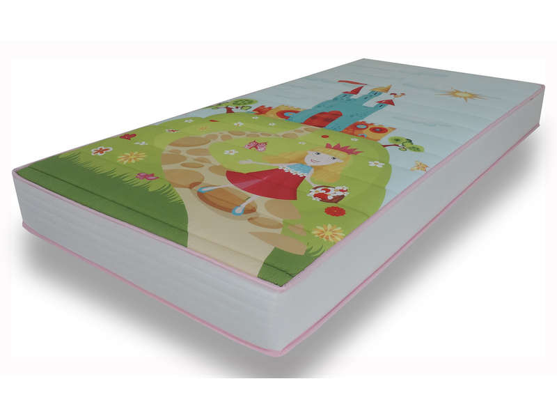 Matelas mousse 90x190 cm NIGHTY KIDS PRINCESSE - NIGHTY KIDS