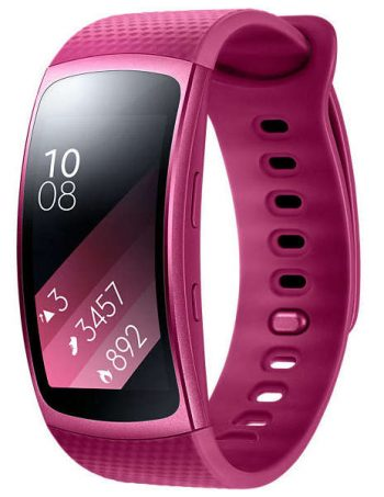 Montre connectée SAMSUNG GEAR FIT 2 VIOLET TAILLE SMALL - Samsung