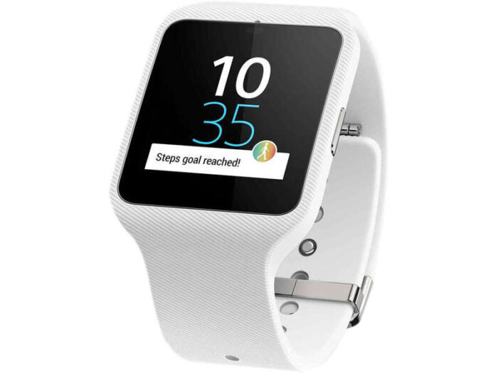 Montre connectée SONY SWR50 BLANC SMARTWATCH 3 - Sony