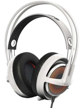 Casque filaire Micro STEELSERIES CASQUE MICRO SIBERIA 350 BLANC - SteelSeries