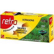 Répulsif ultrasons antitaupes RETRO Rust2