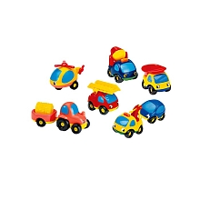 Smoby - Vroom Planet - Coffret collector 8 vehicules - Smoby