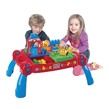 Mega Bloks - First Builders - Maxi Table 3 en 1 - Mega Bloks