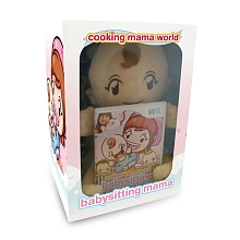 Jeu Nintendo Wii - Cooking Mama world : babysitting - Digital Bros