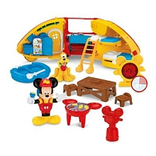 Fisher Price - Le Camping Car de Mickey - Mattel