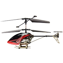Hélicoptère radiocommandé Sky Dragon II 18 cm 3 canaux + gyroscope rouge - Silverlit Toys
