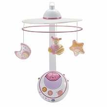 Chicco First Dreams - Mobile des rêves double projections - Rose - Chicco
