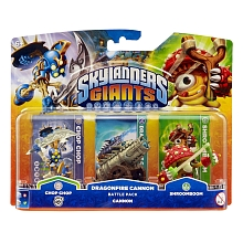 Skylanders Giants - Pack Battle (Chop Chop / Shroomboom / Canon) - Activision