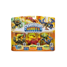 Skylanders Giants - Triple Pack Figurine lumineuse (Prism Break / Eruptor / Drobot) - Activision