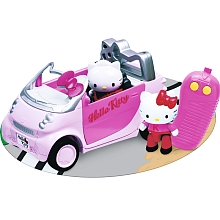 Voiture Radio commandée Hello Kitty - Juratoys