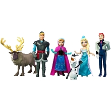La Reine des Neiges - Poupée disney princesse - coffret figurines - Mattel