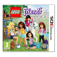 Jeu Nintendo 3DS - Lego Friends - Sodifa