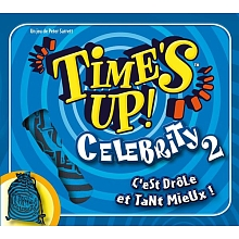 Asmodée - Time's Up Celebrity 2 - Bleu - Asmodée