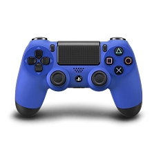 PlayStation 4 - Manette DualShock 4 Officielle - Bleue - Sony