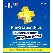 PlayStation Plus Card - Abonnement 3Mois - Sony