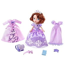disney princesse sofia poup e 2 robes royales seulement chez toysrus mattel. Black Bedroom Furniture Sets. Home Design Ideas