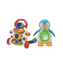 Chicco - Trott gym et Pingouin musical - Seulement chez Toysrus ! - Chicco