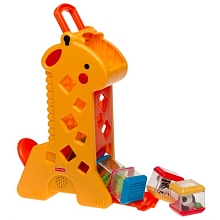 Fisher Price - Girafe sonore à cubes - Seulement chez Toysrus ! - Mattel