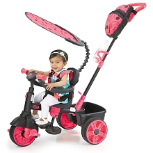 Little Tikes - Tricycle 4-en-1 - Deluxe Edition - Rose - Little Tikes