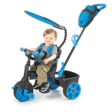 Little Tikes - Tricycle 4-en-1 - Deluxe Edition - Bleu - Little Tikes