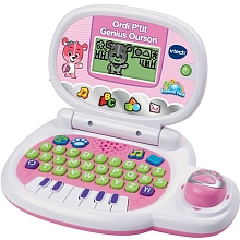 Ordi p'tit genius ourson (rose) - Vtech