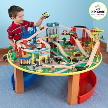 LDD Kidkraft - Table et circuit City Explorer's - Kidkraft