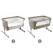 Chicco - Berceau Next 2 Me - Dove Grey - Chicco